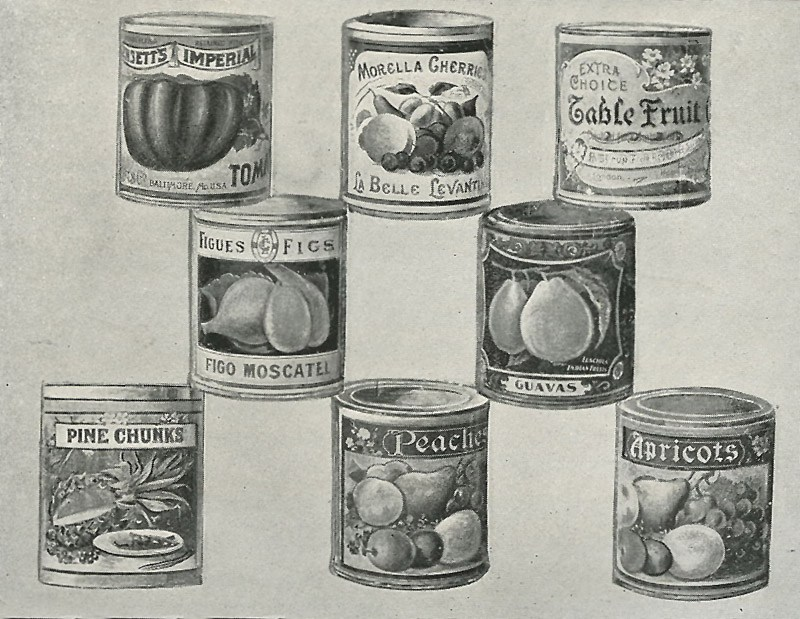 Early Canned Foods